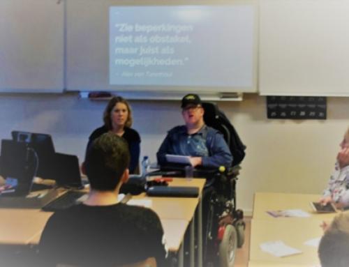 Alex vertelt: het dagelijkse leven van een lichamelijk gehandicapte